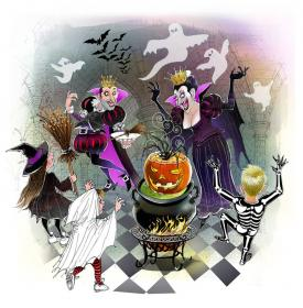 Halloween-at-spooks-palace