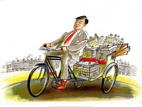 Rickshaw marketeer